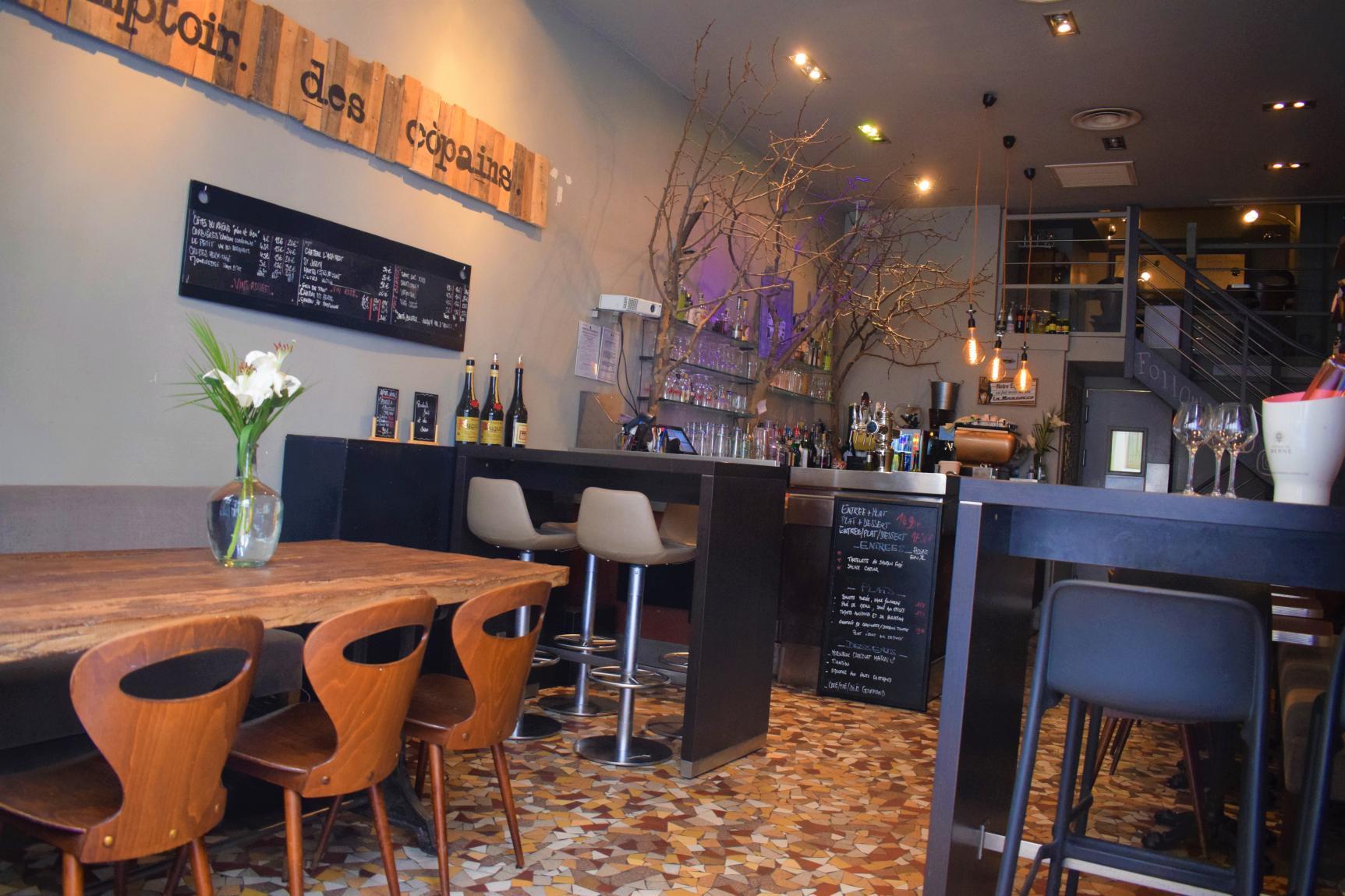 Image result for Le Comptoir Des Copains Restaurant