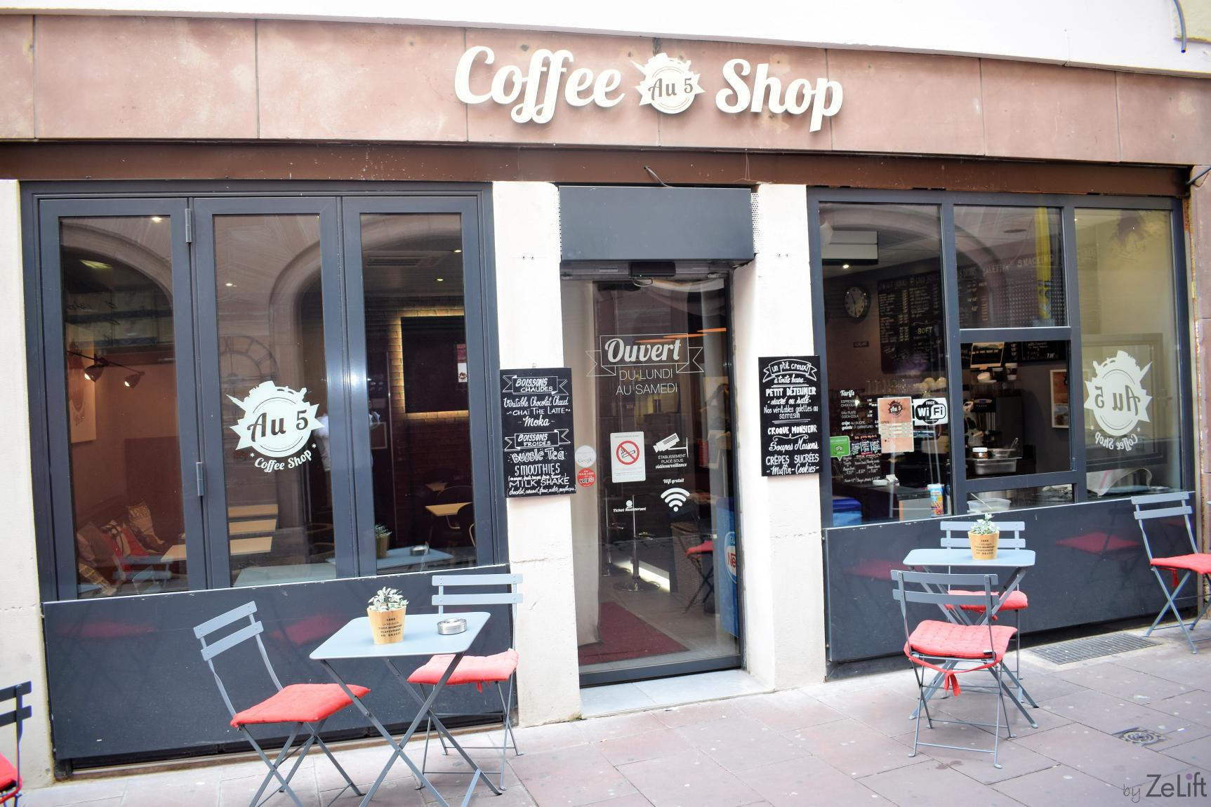 au 5 coffee shop coffee shop strasbourg byzelift. Black Bedroom Furniture Sets. Home Design Ideas