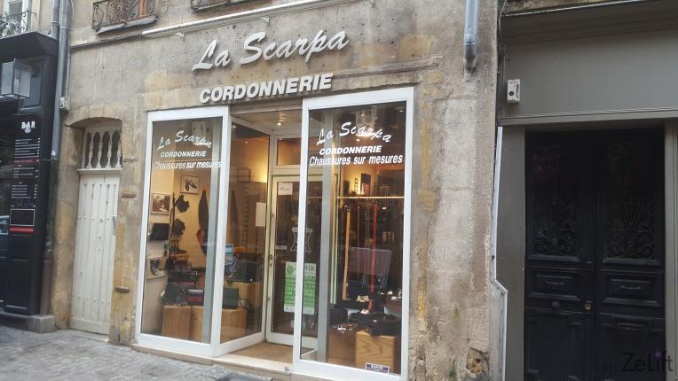 Cordonnerie La Scarpa - Photo n°1